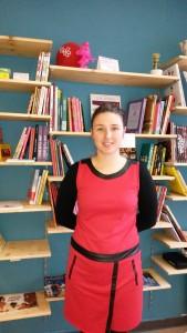 Marie-Charlotte Cayet, gérante de la librairie Andy et Marcel