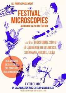 Festival Microscopies 2016 - autour de la petite édition