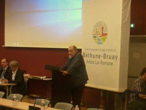 Jacques Napieraj a ouvert la séance ((c) Radio Plus / Jean-Philippe PLANQUE)