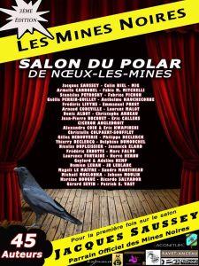 Affiche salon Les Mines noires, à Noeux-les-Mines