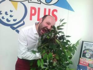 le conteur Fabien Delorme à Radio Plus - mai 2017