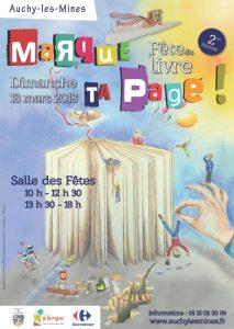 Fête du livre d'Auchy-les-Mines, 2e édition