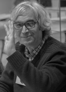 l'auteur et chroniqueur sur Radio Plus, Patrick S. Vast