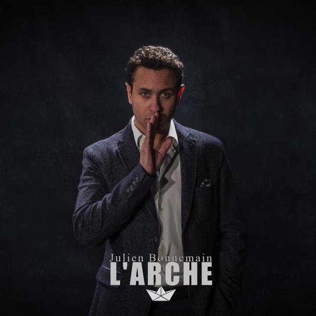 """Pochette de l'album """"L'arche"""" de Julien Bonnemain"""