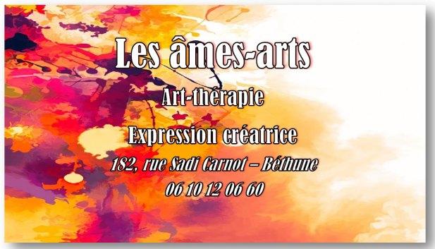 Couverture Facebook Les Âmes-arts, art-thérapie, cabinet de Karine Leroy-Bauchart