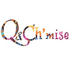 """Logo entreprise """"Q & Ch'mise"""" (pièces uniques sur un concept de revalorisation textile)"""