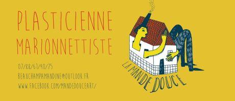 Photo de couverture Facebook - La Mande douce - créations et ateliers de marionnettes (Amandine Beauchamp)