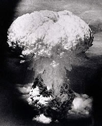Hiroshima blast, August 6. 1945.  Source: commondreams.org