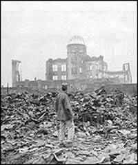 Hiroshimas Chugoku-Shikoku Public Works Office building aka The Atomic Bomb Dome.  Source: BBC