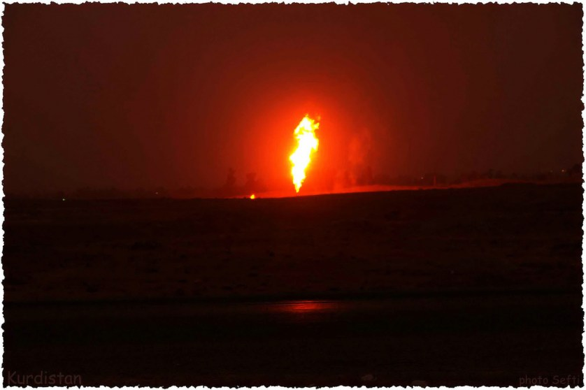 Karkuk Kurdistan oil. Photo by Jan Sefti