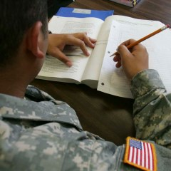 Returning Home: From War Fighter to Student