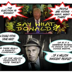 Greg Palast on Voter Suppression, and Buying Democracy