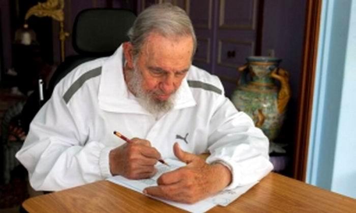 Visitó a Fidel Castro el Ministro de Relaciones Exteriores japonés. Foto de Archivo