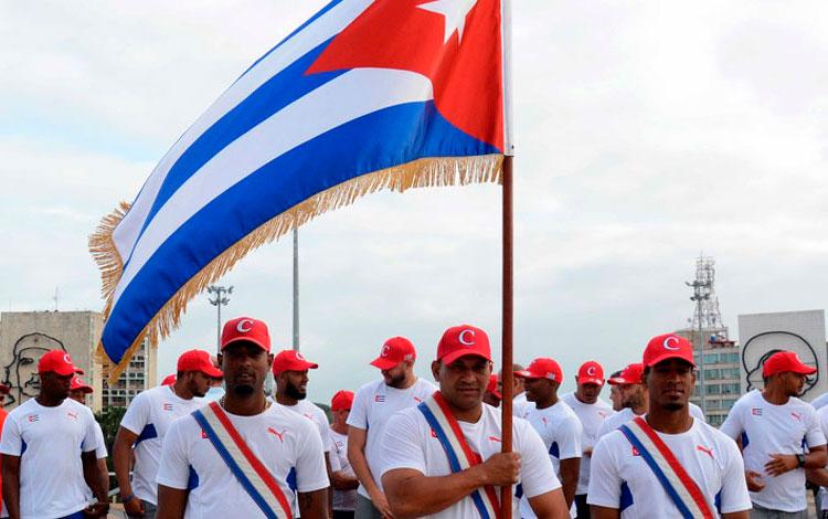 Abanderado equipo cubano de béisbol al Preolímpico de Arizona
