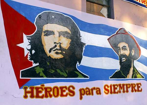 Camilo y Che, héroes para siempre. Foto: Abel Rojas