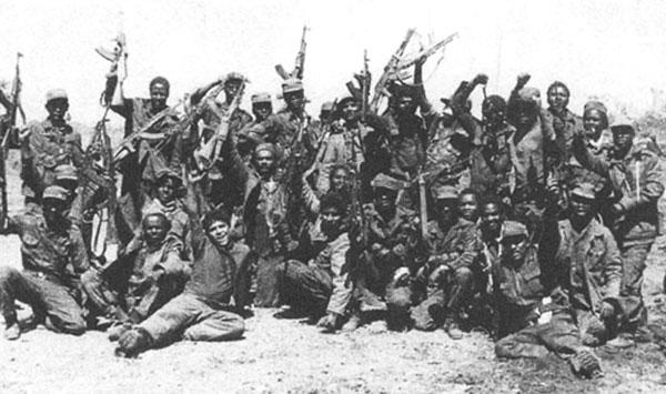 Internacionalistas cubanos en Angola