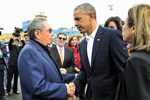 Visita de Barack Obama a Cuba. Foto: Estudios Revolución
