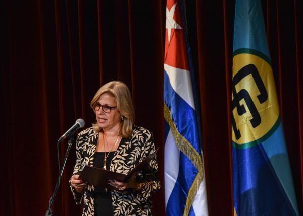 Viceministra cubana de Relaciones Exteriores, Ana Teresita González.