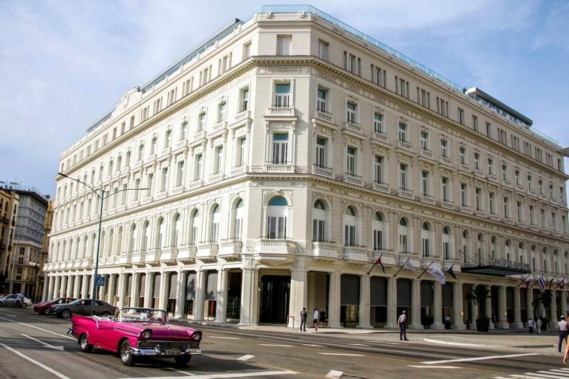 Inauguran el Gran Hotel Manzana Kempinski, ubicado en la céntrica calle San Rafael, en la Habana Vieja; es el primer Hotel cinco estrellas plus de Cuba, el 7 de junio de 2017. Foto: Abel Padrón