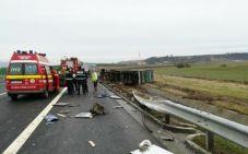 accident A1 tir1