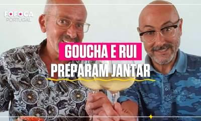 Goucha e Rui