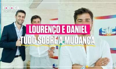 Daniel Oliveira e Lourenço Ortigão