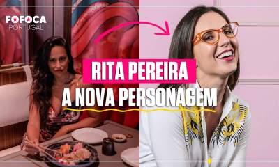Rita Pereira muda de visual para novela da TVI