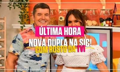 SIC tem nova dupla, Pedro Crispim e Inês Mocho