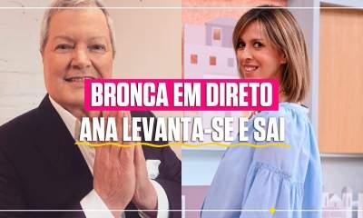 Ana Marques abandona programa de Marco Paulo em direto