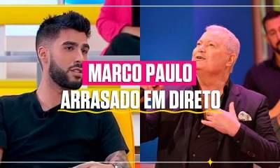 Marco Paulo arrasado em direto na CMTV