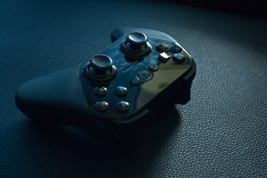 black game pad