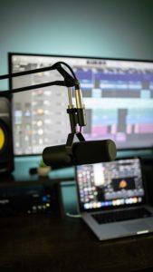 studio musician recording