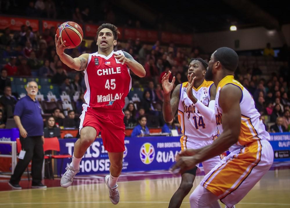 BASQUETBOL: Chile derrotó a Islas Vírgenes por clasificatorias a ...