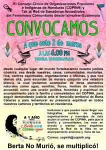 en los consulados y embajadas de Honduras y el mundo