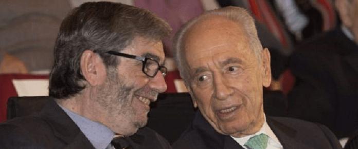Con Antonio Muñoz Molina, Premio Jerusalén (reposición de 2013)
