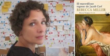 FOTO--Rebecca Miller y libro
