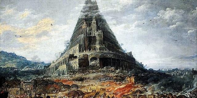 Noé, el diluvio y la torre de Babel: la era de la confusión