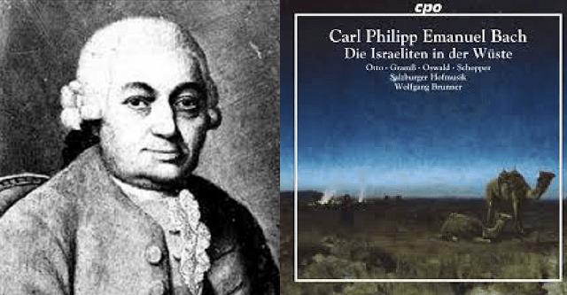 """""""Los israelitas en el desierto"""", de Carl Philipp Emanuel Bach"""