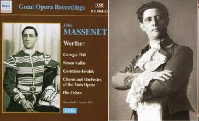 """Werther"" de Massenet, dirigida por Elie Cohen"