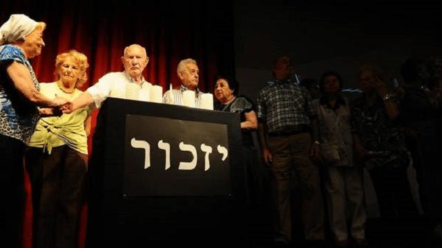 Acto de homenaje a las víctimas de la shoá en Buenos Aires