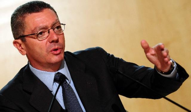 Con Alberto Ruiz-Gallardón, ex Ministro de Justicia