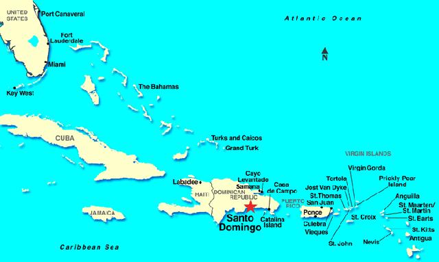 Santo Domingo: la isla de Colón, con Isaac Chocron
