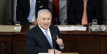 Israel Prime Minister Benjamin Netanyahu addresses a joint meeting of Congress in Washington