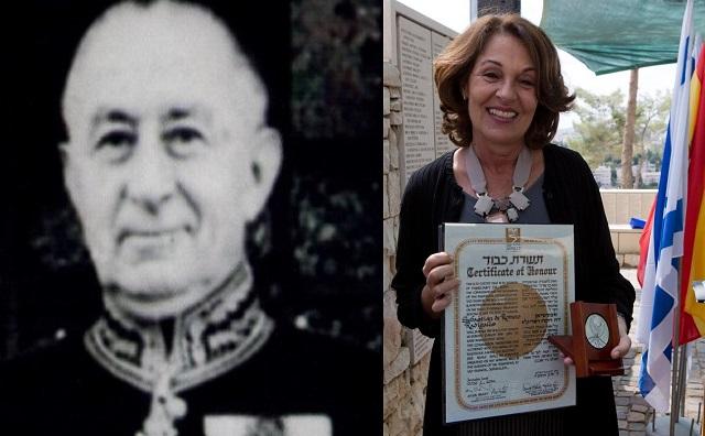 Sebastián Romero Radigales: el héroe que no esperaba recompensa, con su nieta, Elena Colitto-Castelli