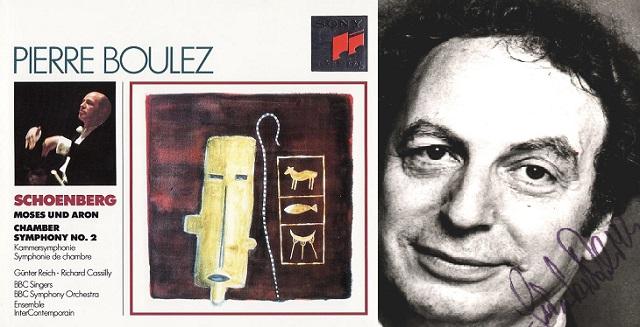 """Moisés y Aarón"" de Schoenberg, con Günter Reich"