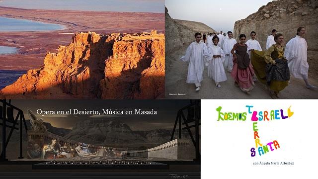 Música en el desierto. Festival de ópera – Masada Parque Natural