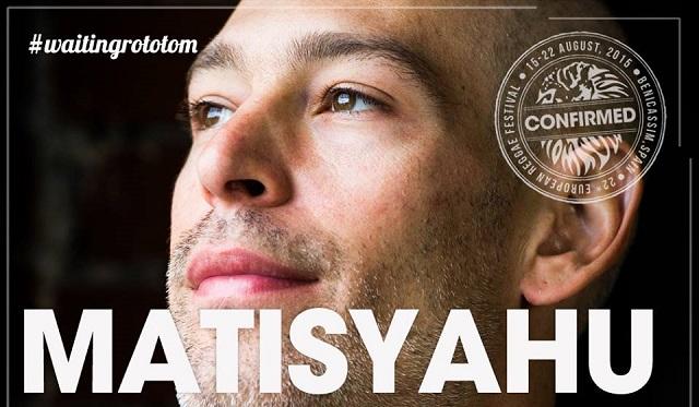 """Matisyahu actuará finalmente en el Festival Rototom. """"La música gana"""", dice el artista"""