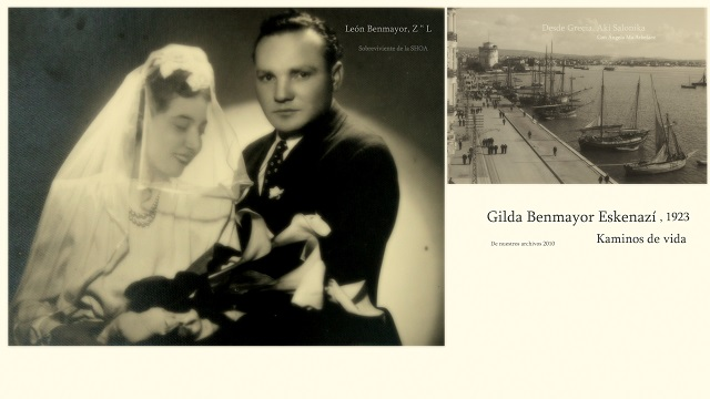 Gilda Benmayor, de Estambúl a Salónica