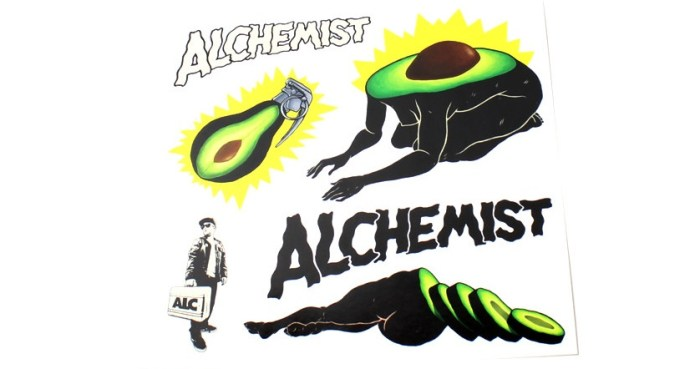 La ensalada israelí del DJ Alchemist