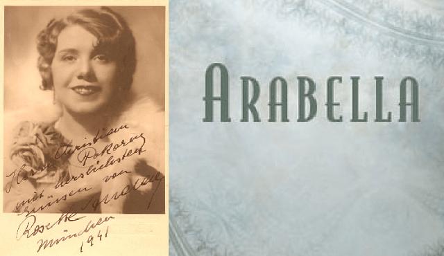 """""""Arabella"""" de Strauss, con Rosette Anday"""